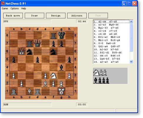 NetChess - Play chess with opponent over network